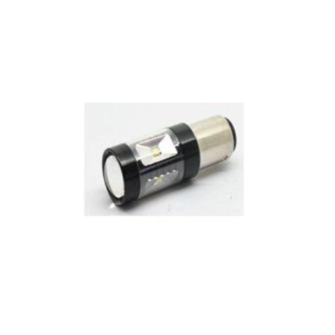 LED лампа тормоза заднего хода UP 7G 1156FWB 30W(BA15S  белая, 12 24 В