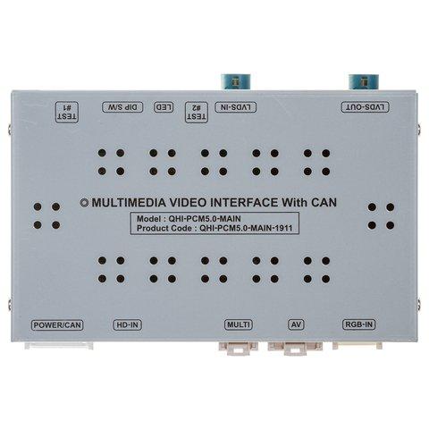 Видеоинтерфейс для Porsche с системой PCM 5.0 2018~ г.в.