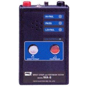 Wrist Strap and Footwear Resistivity Tester Goot WA-8