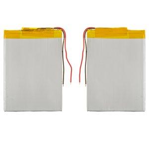 Battery, (80 mm, 55 mm, 3.2 mm, Li-ion, 3.7 V, 1350 mAh)