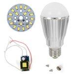 Juego de piezas para armar lámpara LED SQ-Q17  9 W (luz blanca fría, E27)