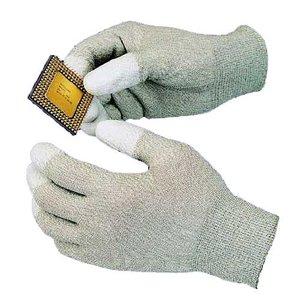 Антистатичні рукавиці з поліуретановими пальцями Goot WG-3S
