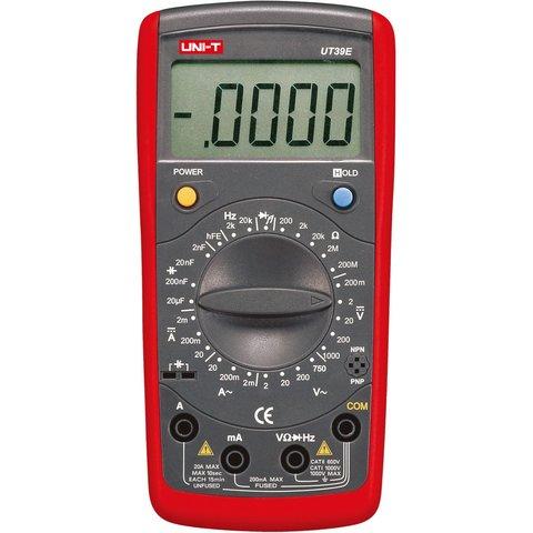 Цифровий мультиметр UNI T UTM 139E UT39Е
