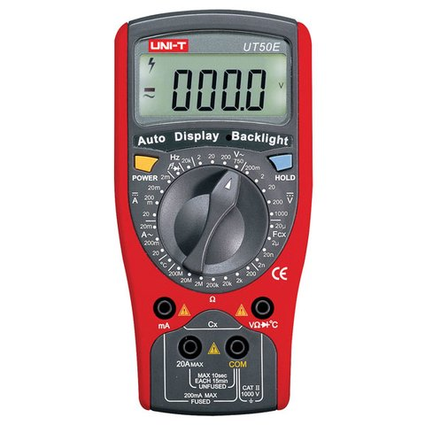 Цифровий мультиметр UNI T UTM 150E UT50E