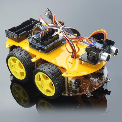 Электронный конструктор Haitronic Робомобиль с Bluetooth-управлением