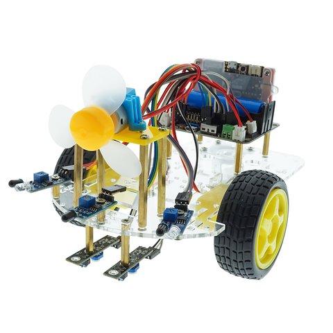 Конструктор на базе micro:bit Умный робот-пожарник + руководство пользователя