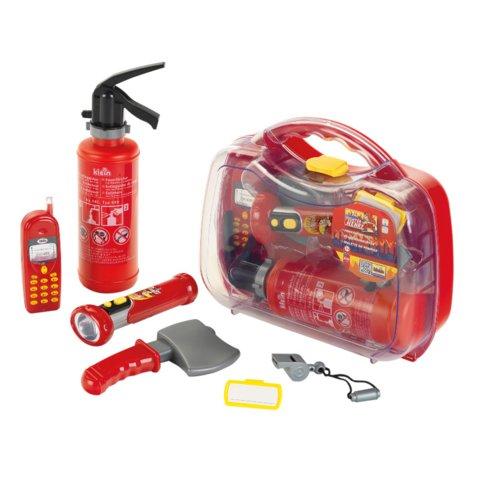 Набір пожежника у прозорому кейсі Klein
