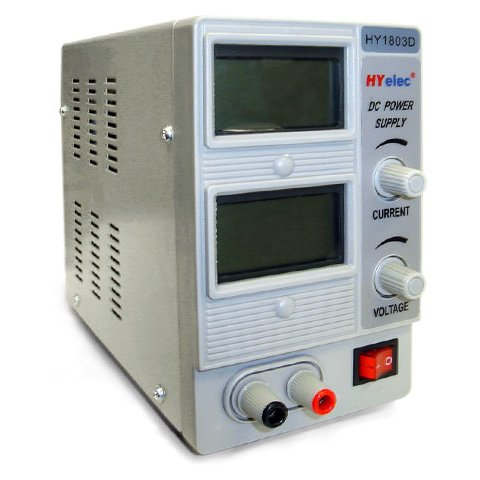 Regulated Power Supply Unit HYelec HY1803D